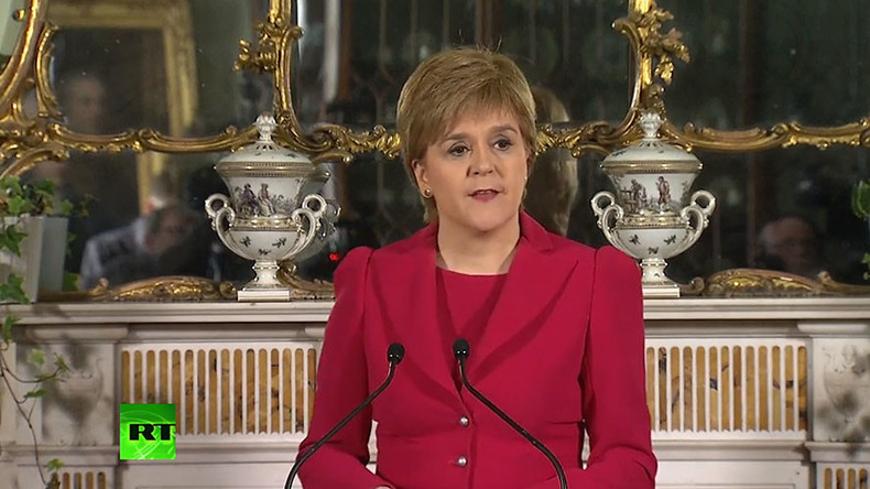 Sturgeon announces plan for 2nd Scottish independence referendum