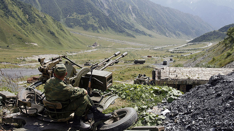 Govt sanctions partial merger between Russian & South Ossetian military forces
