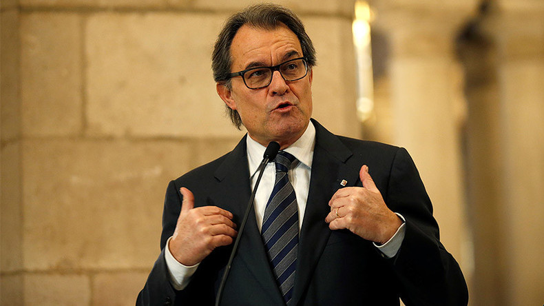 Catalan ex-president given 2-year public office ban for independence referendum