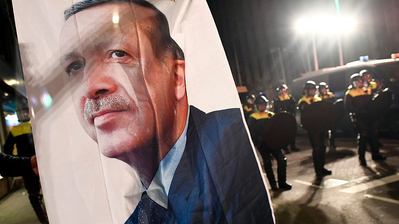 Erdogan calls Merkel a 'terrorist supporter,' says Turkey will go to ECHR over Netherlands rally row