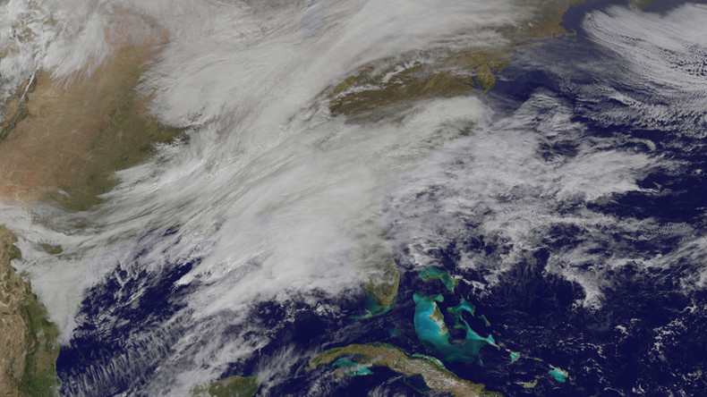 Dramatic NASA images capture sinister winter storms rolling across US (VIDEO)