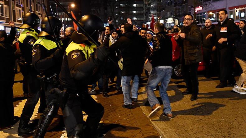 'Turkey is not democratic, EU is experiencing a clash of civilizations'