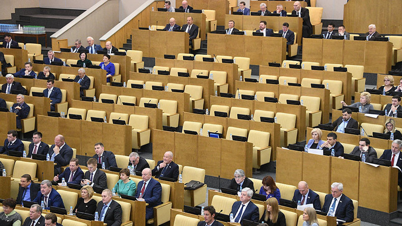 Liberal Democrats walk out of Duma session after corruption row with United Russia