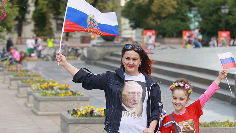 Record-high number of Russians think their country has significant international clout
