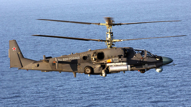New helicopters join Russian Navy amid quest for 'radically new' weapons