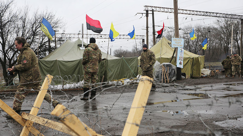 Kiev halts all transport links with rebel-held E. Ukraine