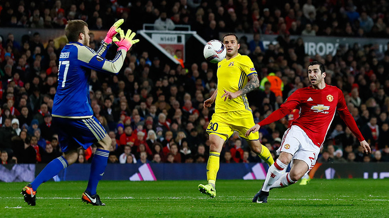Man United 1-0 (2-1) FC Rostov - Russian fairytale ends at Old Trafford