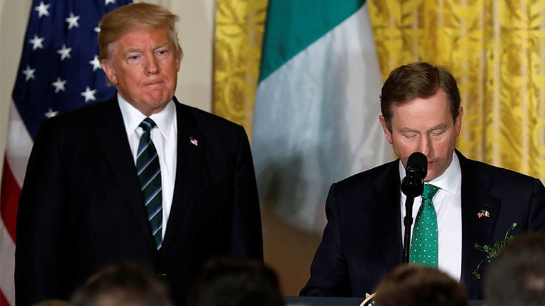 Trump's favorite 'Irish proverb' is actually Nigerian