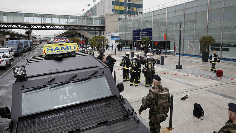 French politicians praise handling of Orly shooting as Le Pen attacks 'outdated' government