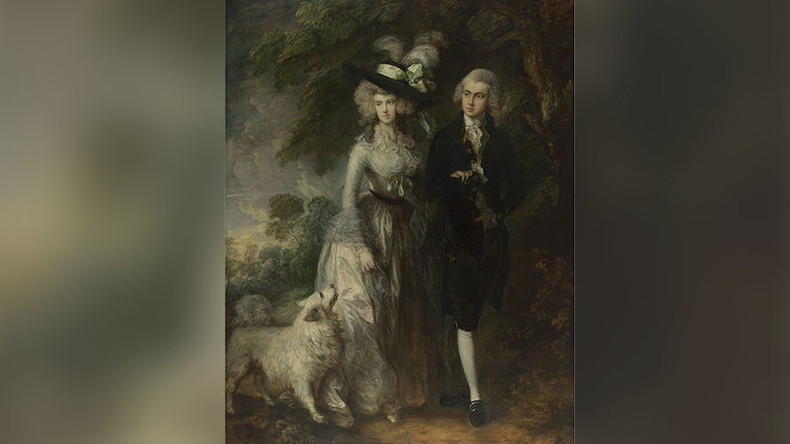 Homeless man damages famed Gainsborough painting with screwdriver