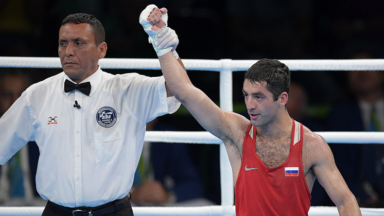 Russian Olympic boxer Aloyan to make pro debut on April 22
