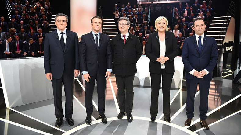 Migrants, Islam, independence: Top French presidential candidates clash in 1st TV debate