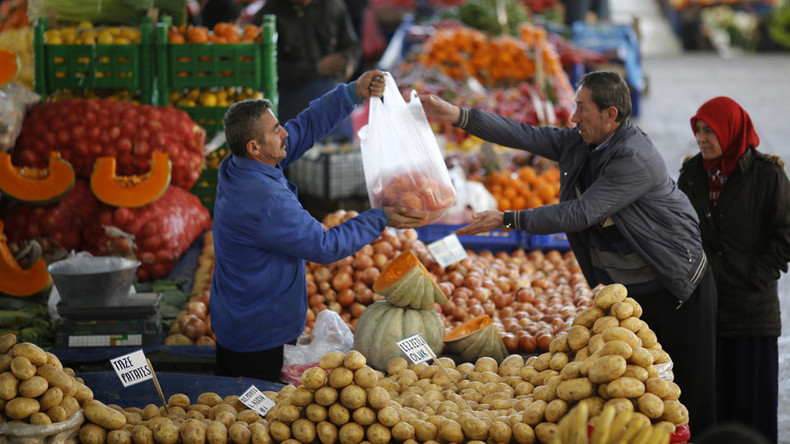 Moscow extends Turkish food ban in response to heavy tax on Russian agriculture