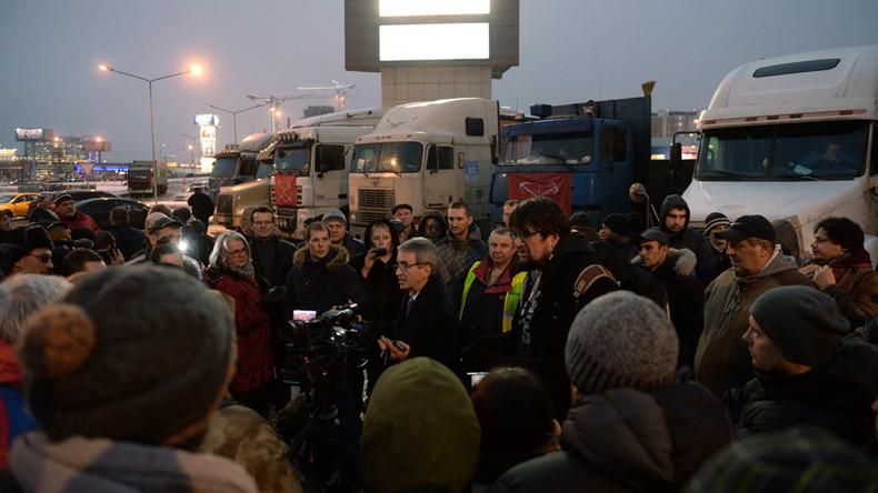 Senators oppose amendments tightening Russian law on rallies