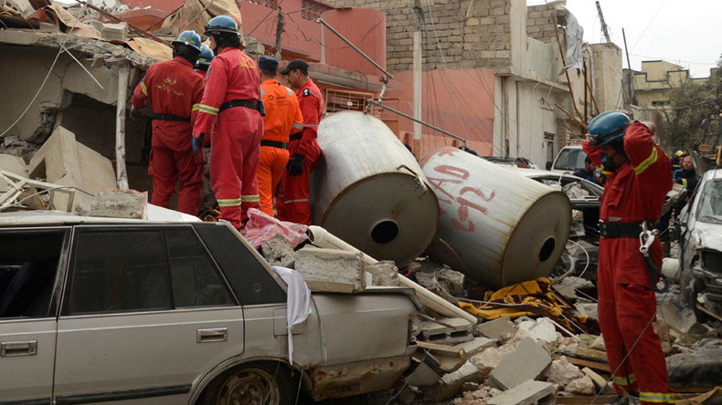 'USAF 'risk calculus' in Mosul leading to unacceptable civilian casualties'