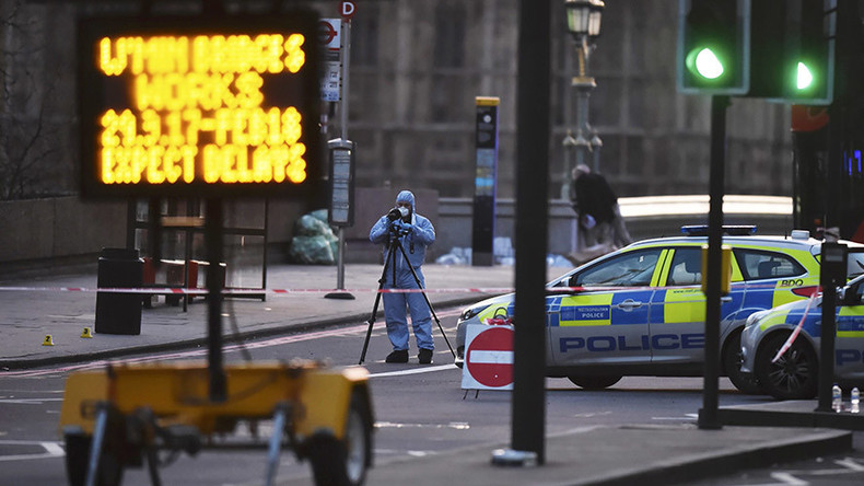 'No further attacks planned': UK counter-terror police say Westminster attacker 'acted alone'