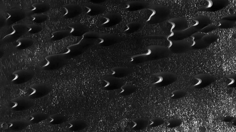 New Mars photo shows countless worm-like dunes on red planet (PHOTO, VIDEO)