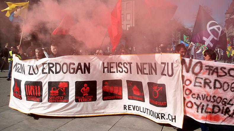 Turkey summons Swiss ambassador over anti-Erdogan rally in Bern