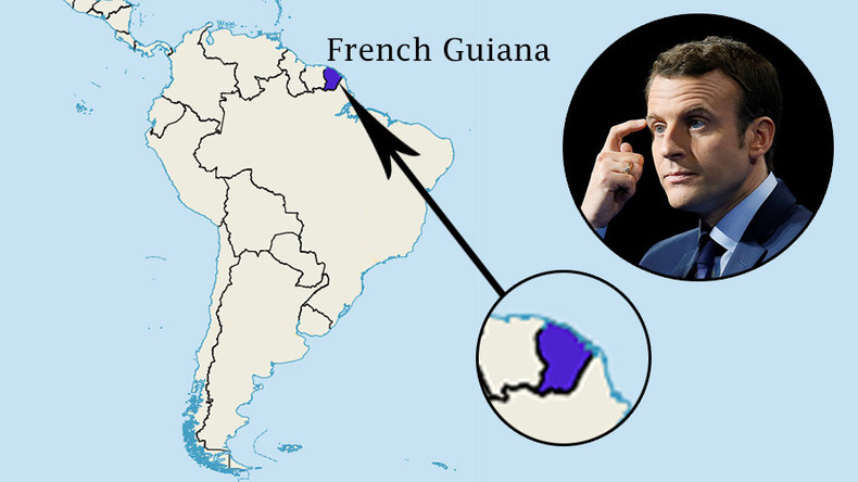 'Go learn geography': Internet goes wild over presidential candidate Macron's French Guiana mishap