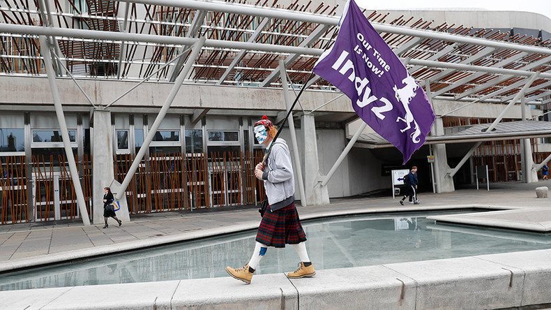 Scottish Parliament backs Nicola Sturgeon's demand for second independence referendum