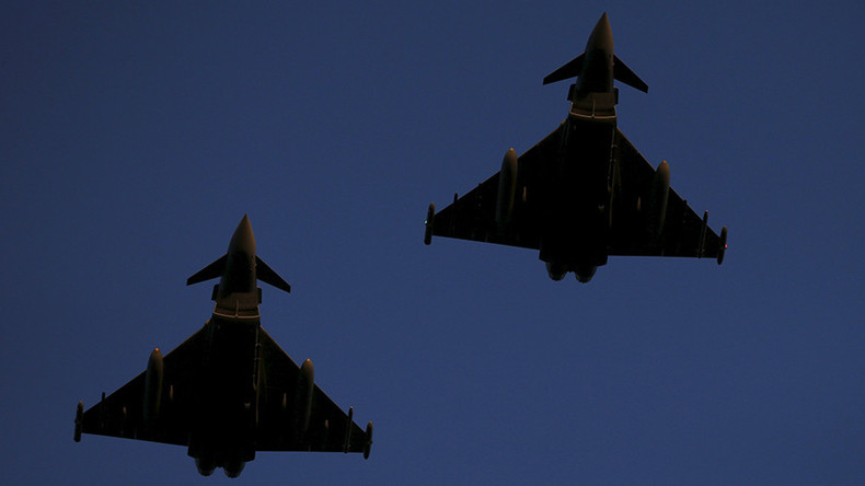Encircling Russia? RAF Typhoon fighters will deploy to Romania in May