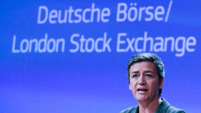 EU blocks stock exchange mega-merger between Germany and Britain