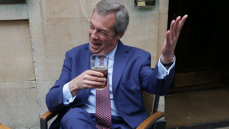 EU referendum repeat would see 70% vote for Brexit, Farage claims
