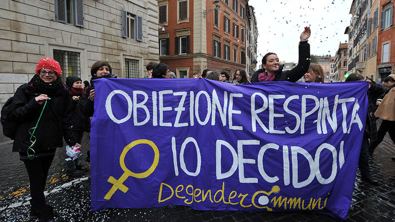 'Menstrual leave' & abortions: Women's rights debate rages in Italy