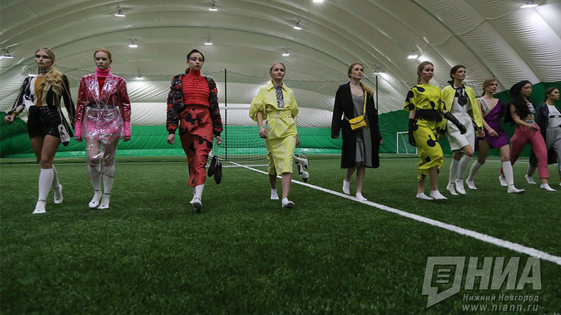 Glamour girls of Nizhny Novgorod play in inaugural 'Beautyball' tournament (PHOTOS)