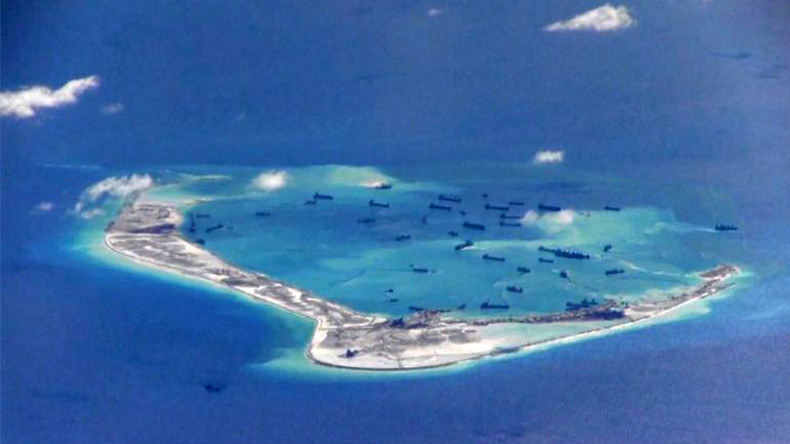 'No such thing' as man-made islands in South China Sea, says Beijing