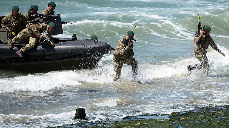 British military funding crisis could see Royal Marines cut to pay for aircraft carriers
