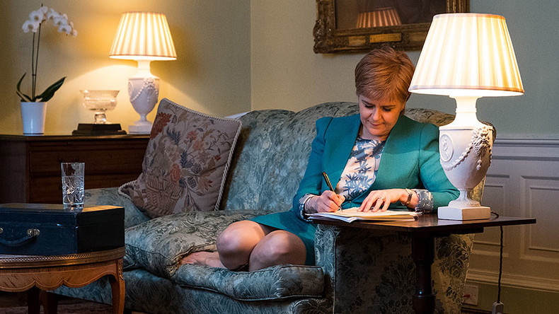 Scotland issues formal request for 2nd independence referendum