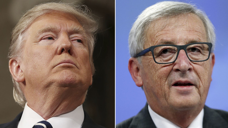 'Trump-Juncker showdown: If you're shouting in the forest, you'll get an echo'