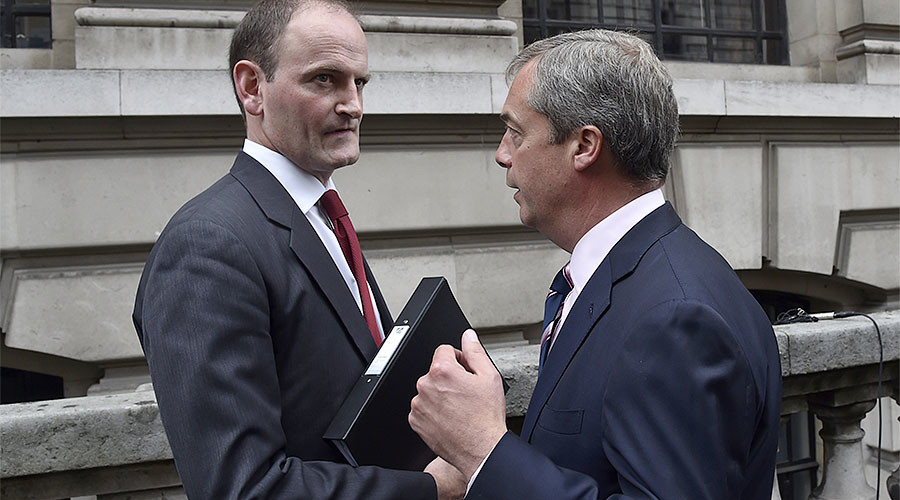 UKIP civil war rages as only MP reportedly holds talks on Tory re-defection