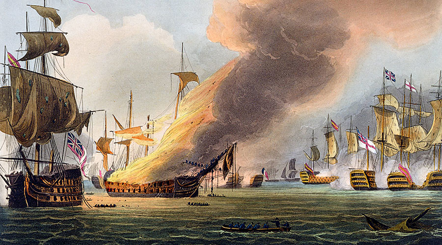 Trafalgar sword awarded by Admiral Nelson goes on sale