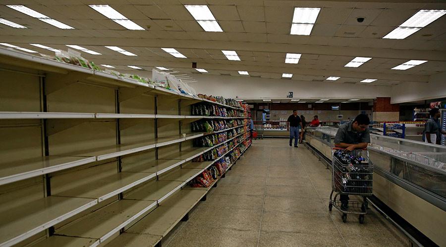 Venezuela running out of cash