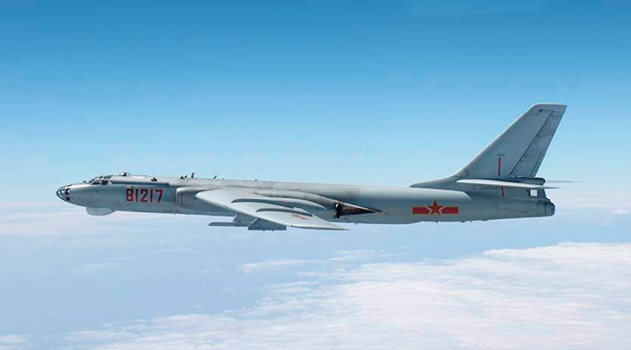Japan scrambles jets as Chinese warplanes fly near Okinawa