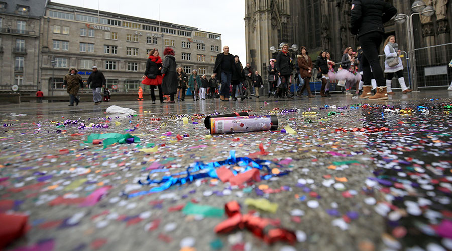 Kids in German town given brothel merchandise during Carnival procession