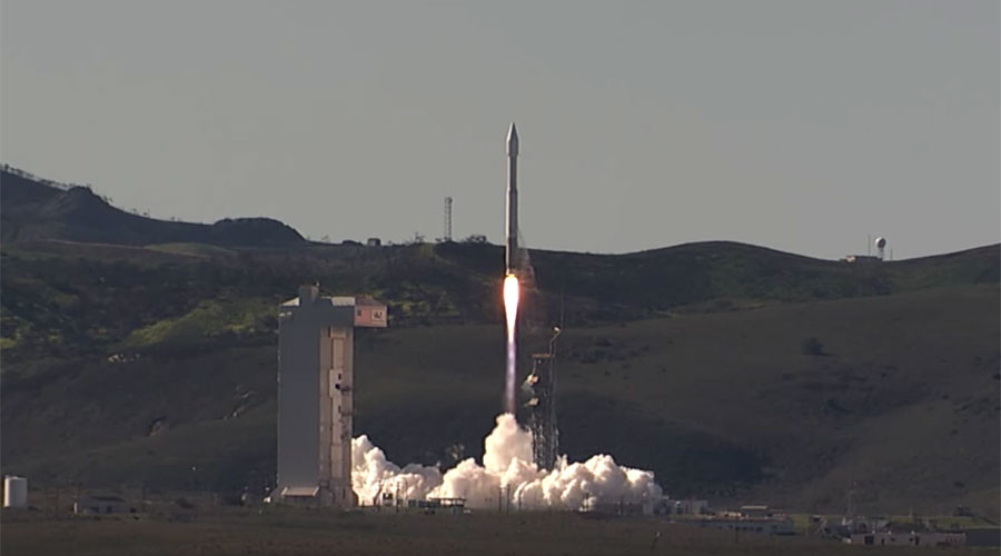 US spy satellite launched aboard Atlas V rocket to conduct intelligence missions (VIDEO)