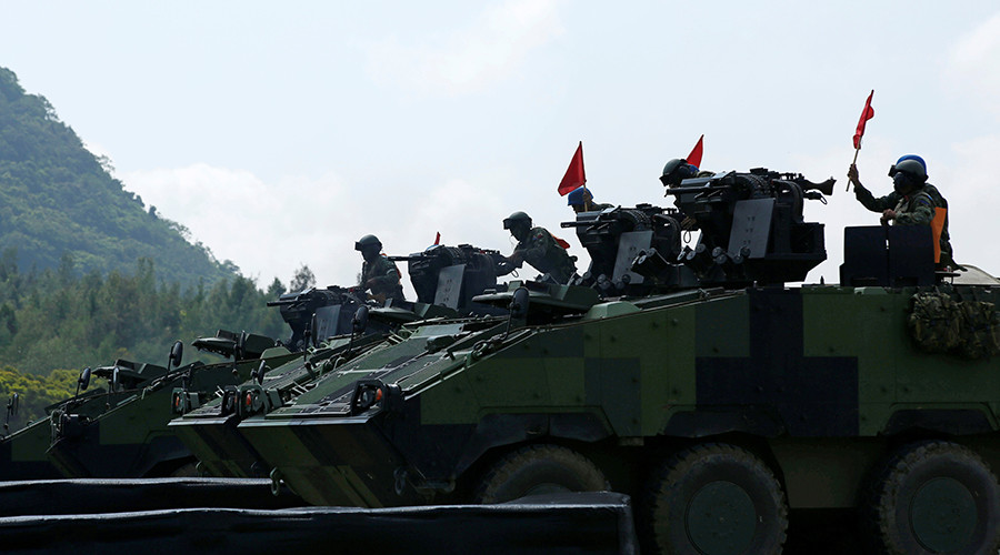Against 'outside meddling': China to boost defense budget by 7% in 2017 – top official