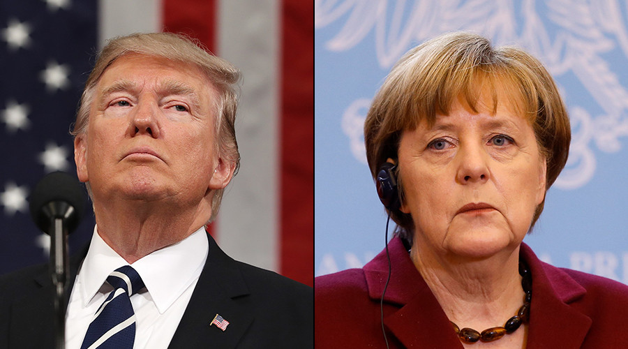 Trump to host Merkel at White House in first face-to-face meeting