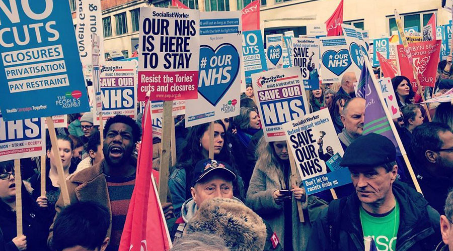 #OurNHS: Thousands rally in London to protest privatization of health service (VIDEO, PHOTOS)