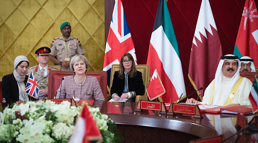 Britain ignores Bahrain's human rights record to pursue business interests with dictatorship