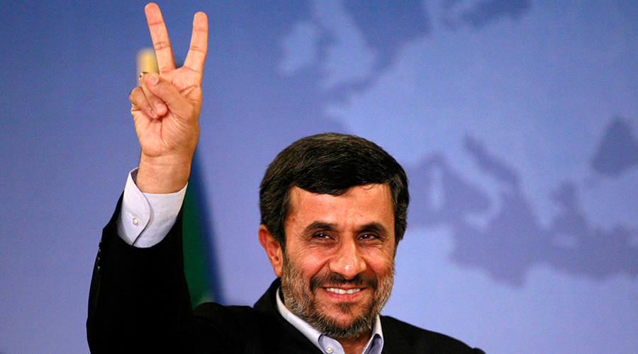 Former Iranian President promotes love & peace on Twitter, years after he helped ban it