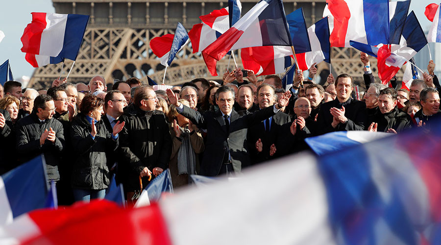 'No one can stop my candidacy!' France's Fillon invigorates supporters amid replacement rumors