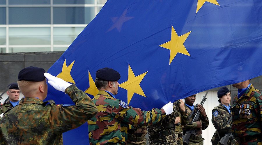 EU ministers agree to create joint military command center in NATO footsteps