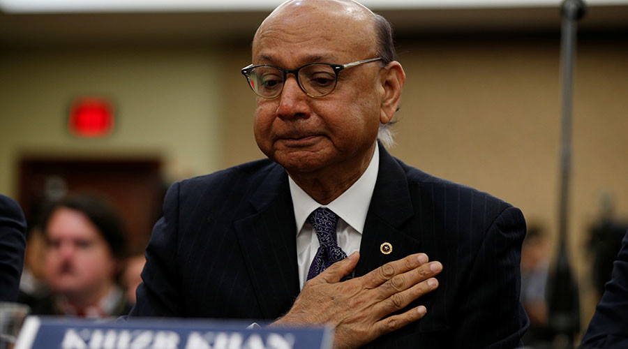 Has Gold Star father Khizr Khan had his 'travel privileges' revoked?