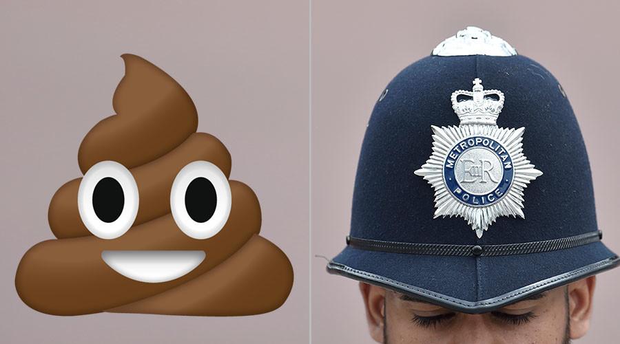 London cops hunt stealth defecator