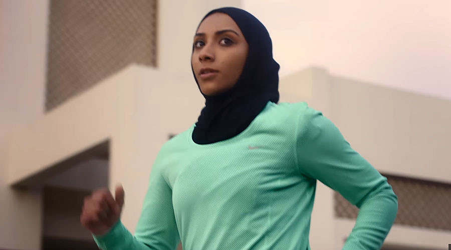 Just did it: Nike unveils new 'Pro Hijab' for female athletes