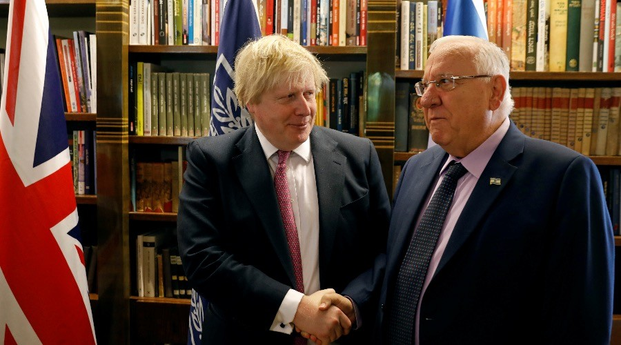 Boris Johnson to meet all sides of West Bank settlement issue during Israel-Palestine visit